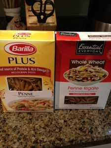 Barilla Plus won my home taste test.