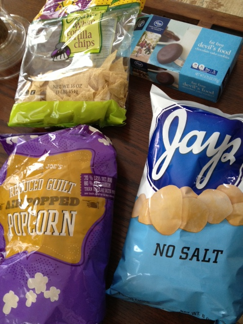 My low-salt, low-fat Super Bowl treats. Try them for New Year's Eve too.
