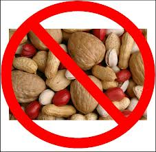 No nuts for me, ever.