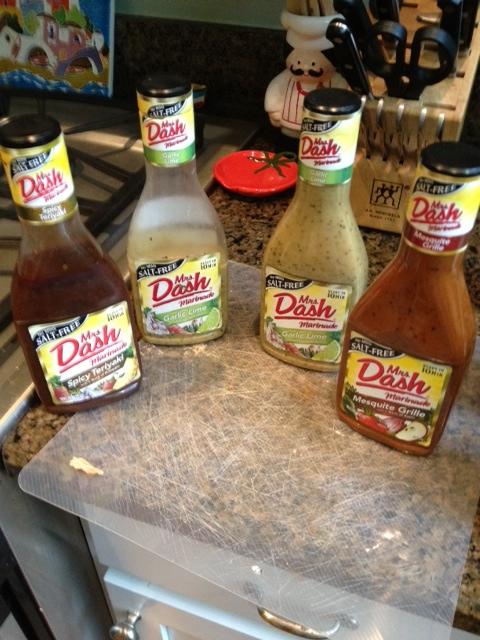Mrs. Dash salt free marinades