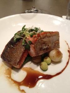 Salmon at Sepia