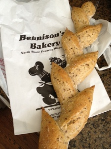 My bread find,  a sourdough multigrain special.