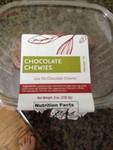 Chocolate chewies, I'm lovin' 'em.