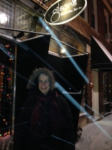 A wonderful, snowy, New Year's eve at Gilson's.