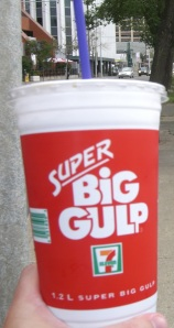 My Super Big Gulp days are over when it comes to diet soda, I given it up for water on the advice of nutritionists...who didn't mention arsenic in water could be a cause of my heart troubles.