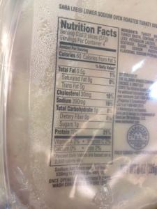 Sarra Lee reduced sodium oven roasted turkey