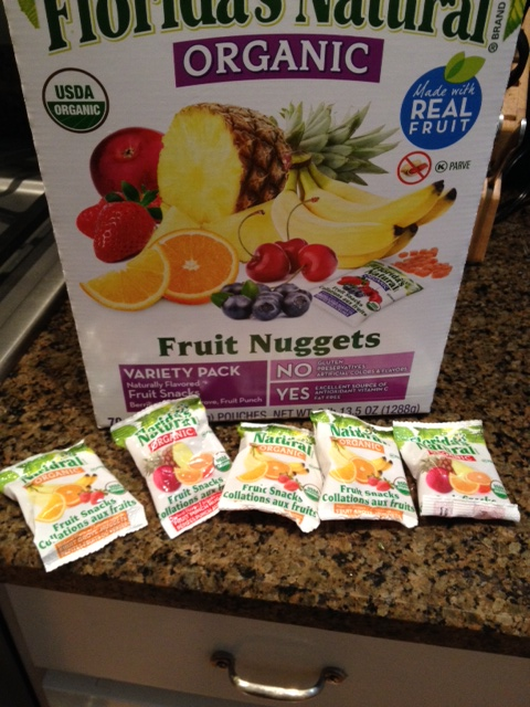 Florida's natural fruit nuggets aren't very good, or very healthy given how much sugar they contain.