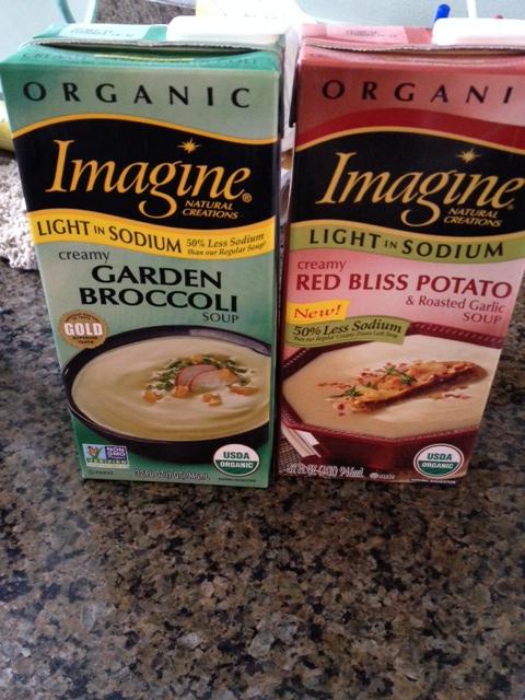 Imagine low-sodium soups: I applaud the effort, but taste is lacking, big time.