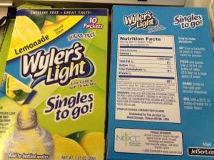 Wyler's Light drink mix