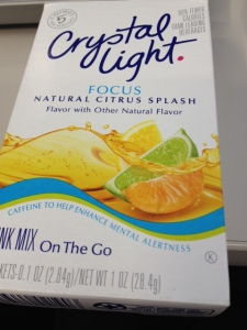 Crystal Light flavoring mix