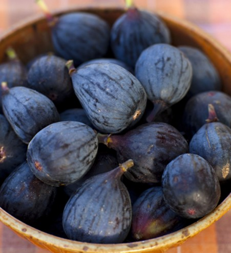 Black figs are a wonderful sweet treat that are low in fat and sodium...and taste great.