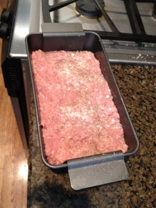 Your turkey meatloaf ready to cook