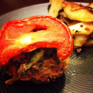 Mini-spinach-meatloaf