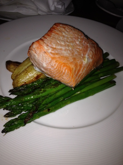 Seattle is a wonderful place to eat fresh salmon. I had it four days straight, including this wonderful offering at Ray's Boathouse.