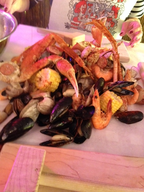 The Crab Pot seafood feast