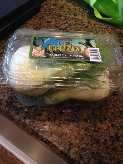Fennel at Trader Joe's is a convenient package. Fennel is normally a fall product but many stores now stock it year-round.