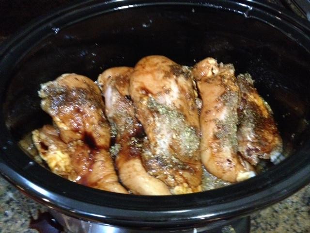 Clean eating crock pot chicken