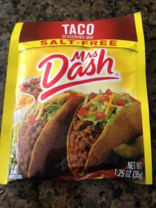Mrs. Dash Salt-free Taco Seasoning