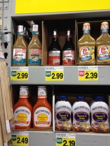 Mrs. Dash salt-free marinades, two varieties, is now available at Food 4 Less. I grabbed them