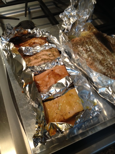 Your salmon feast awaits.