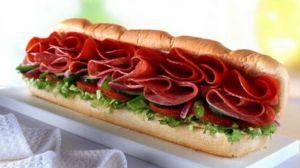 Subway's spicy Italian, avoid it like a salt plague!