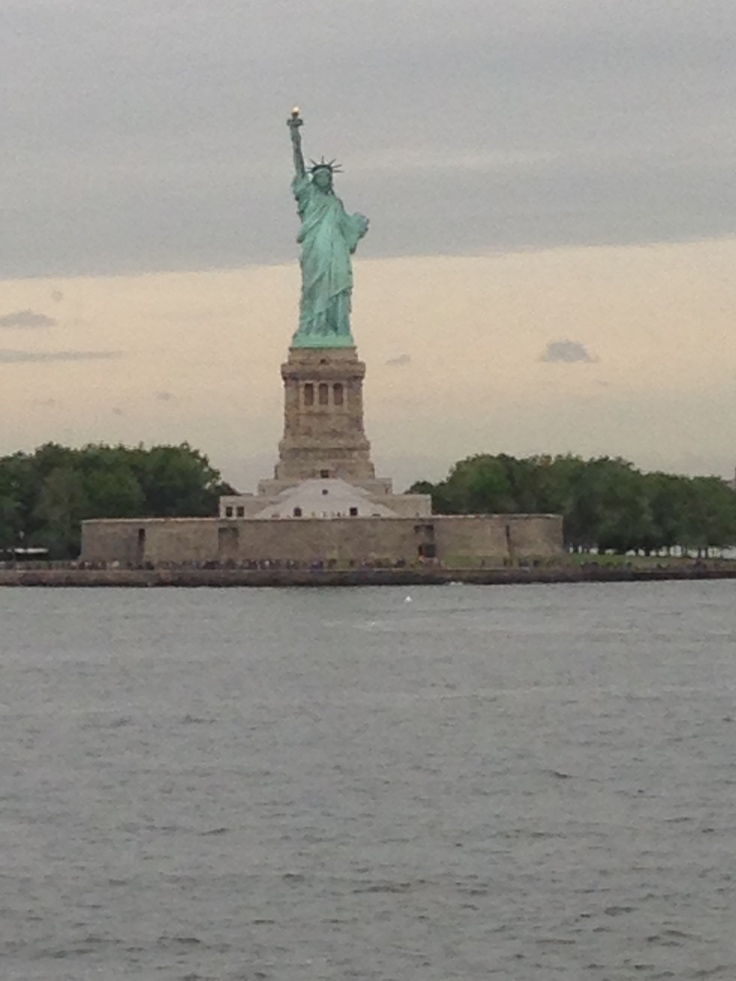 You can get a great view of the Statue of Liberty during a free ride on New York's Staten Island Ferry.