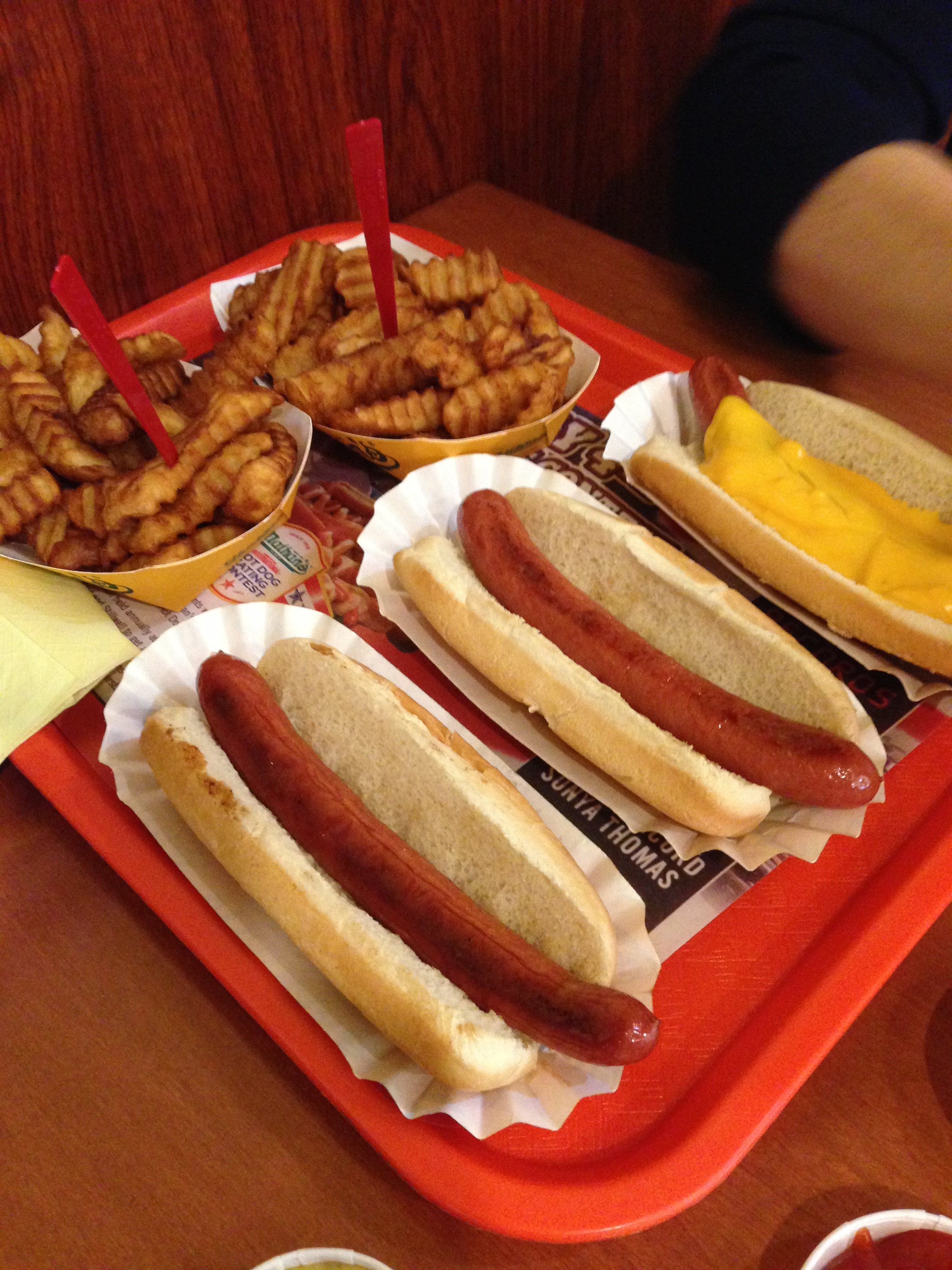 Nathan S Low Fat Hot Dogs