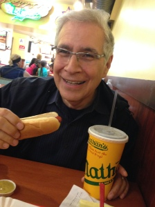 When I go off my post-angioplasty diet, I want it to be for amazing treats I love. Nathan's hot dogs fit that bill.