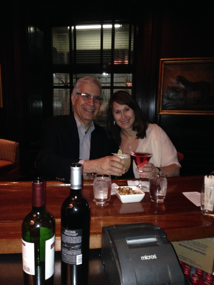 My wife Carolyn and I ended our New York dream trip with very late-night drinks at one of the Waldorf's bars.