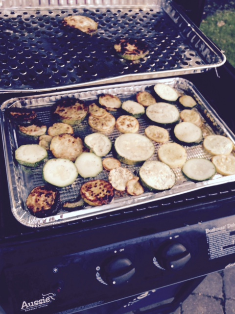 Swordfish and zucchini on the grill, a great summer cookout option (2/2)