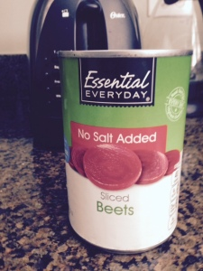 Look for no-salt-added beets to add to your salads.