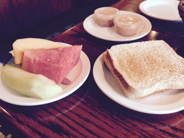 Omega's man-sized fruit plate