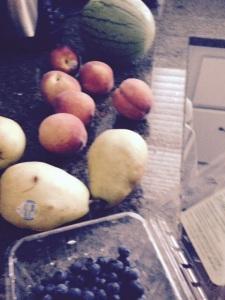 Turning aging fruit...