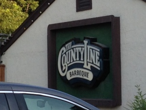 County Line for barbecue in Austin.