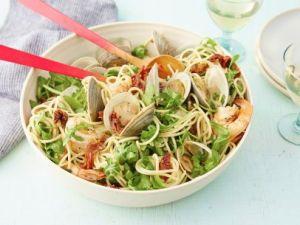 Giada's seafood spaghetti.