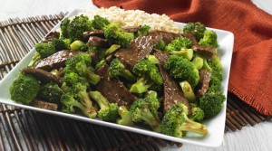 A low-salt broccoli beef recipe from the American Heart Association.