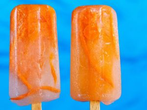Carrot freezer pops? Not sure how tasty these would be.