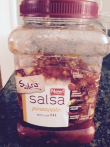 Sabra pineapple salsa