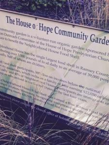 The House of Hope Community Garden
