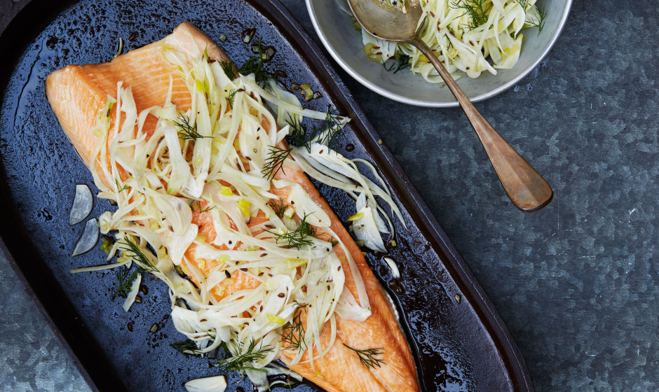 An arctic char recipe for Christmas time, or any time