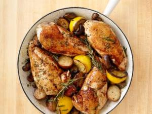 Food Network Rosemary Chicken