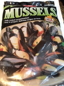 My mussel treat.