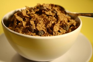 16049-a-bowl-of-cereal-with-raisins-pv