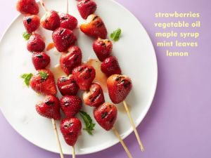 Grilled strawberries? Sounds fun.
