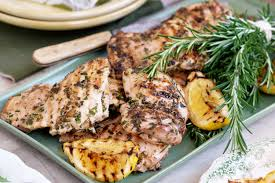 Lemon-herb chicken