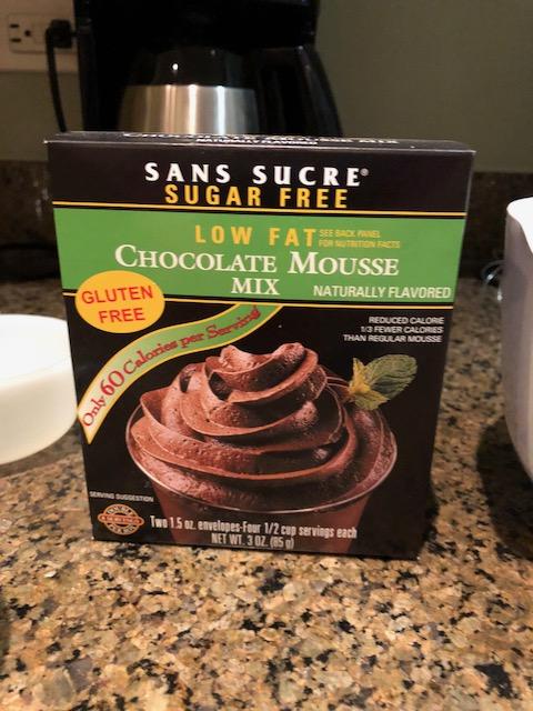 Sans Sucre Mousse Mix